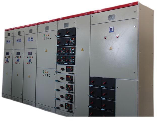 各种交流接触器等,有的还设高压室与低压室开关柜,设有高压母线,如