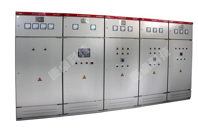 自动巡检装置控制功能:完成对消防泵,喷淋泵的低频和喷雾泵低速自运