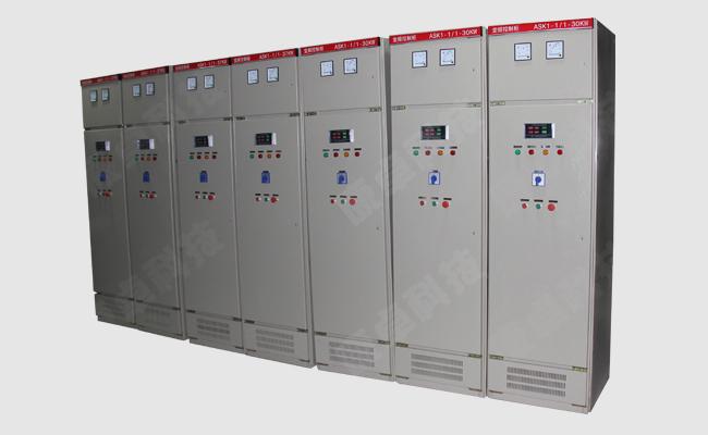 排水泵控制柜可控制一台或多台水泵,一般是一用一备,互为备用,工作泵