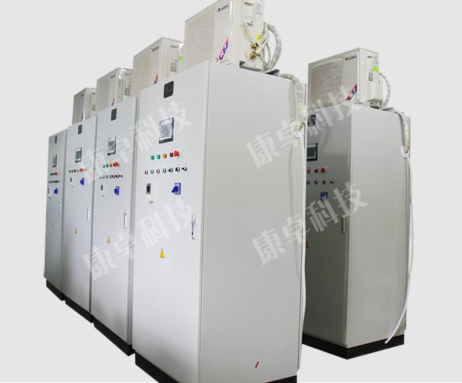 ABB变频器控制柜带空调高温控制柜PLC触摸屏电气柜