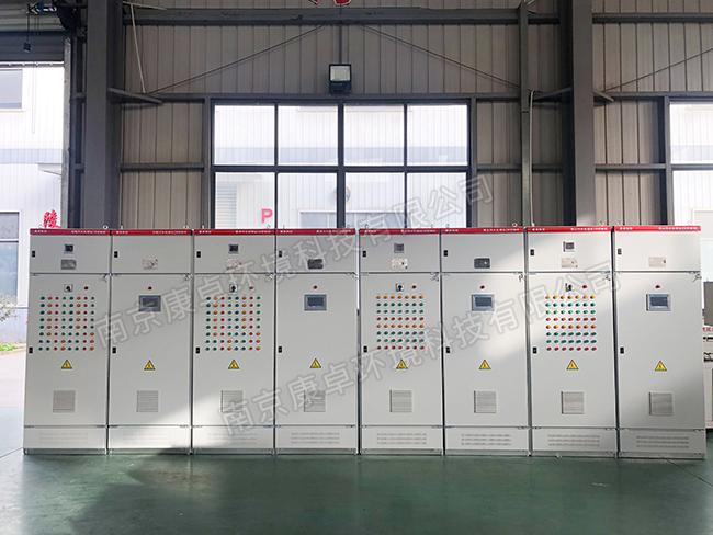 废气处理专用控制柜,大气废气处理PLC自动化控制系统