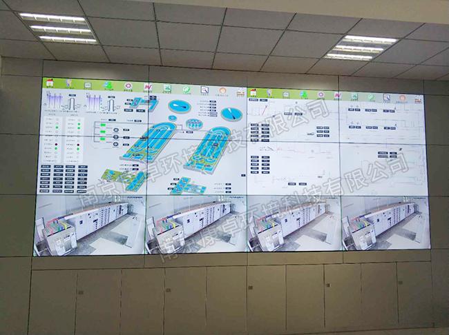 污水处理厂大屏显示系统,污水厂可视化管理解决方案